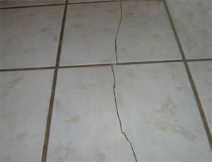 Damaged Tile
